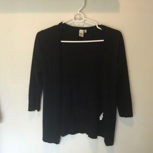 14th Union Basic Black Cardigan - Small